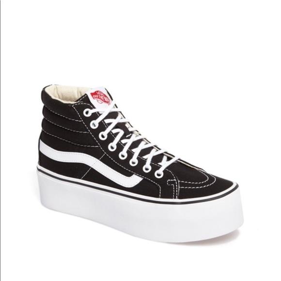 d77c62e7192 Vans Sk8-platform black high top sneakers 9. M 5a7a770b2c705d41b3d6caec
